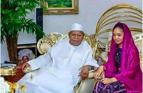 Abubakar Audu last wife