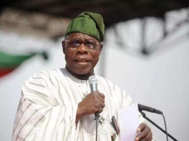 Lamarin Najeriya sai Allah, ku mika kukanku gareshi Obasanjo ga 'yan Najeriya