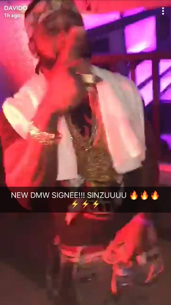 Davido signs ex-convict Saucekid to his record label