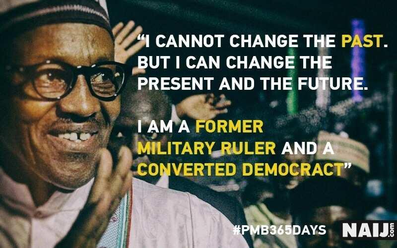Memorable quotes of Buhari's last Democracy day speech