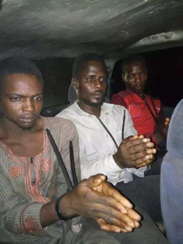 An kama 'yan kungiyar Boko Haram da aka dade an nema tare da wasu mutane uku