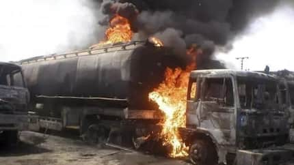 Six burnt to death as petrol tanker explodes in Cross River