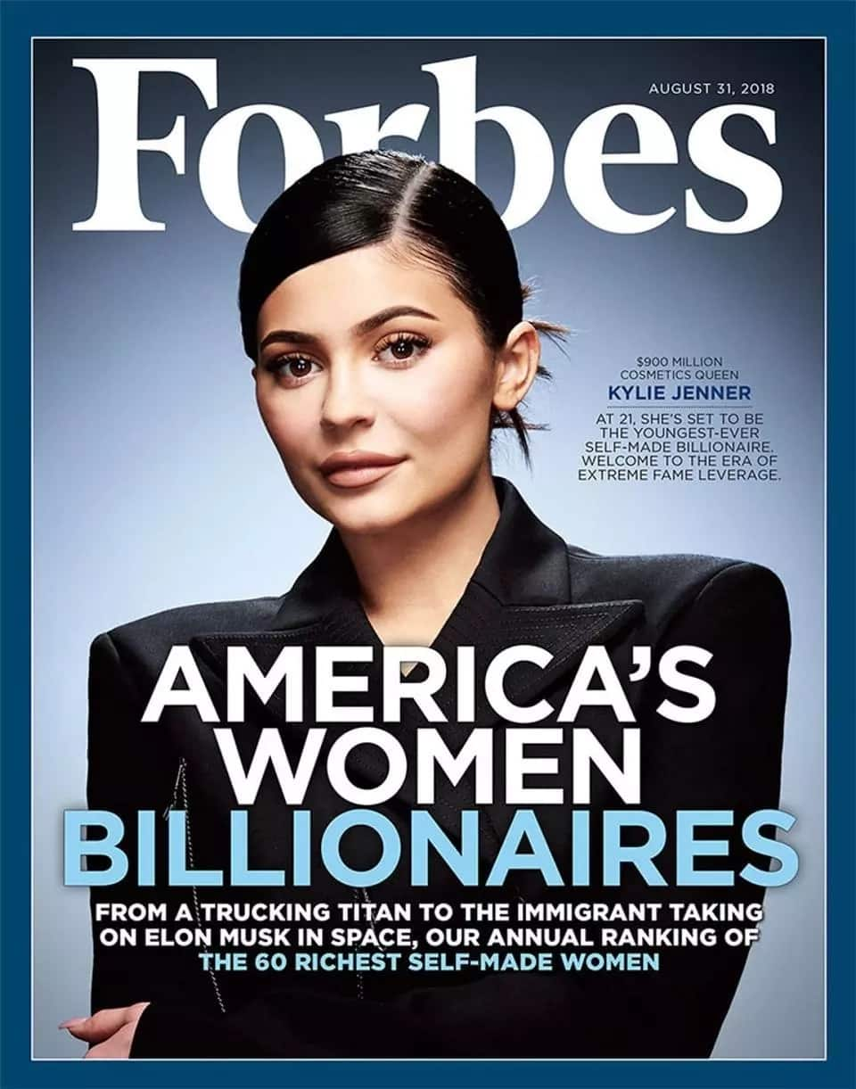 Kylie Jenner net worth Forbes