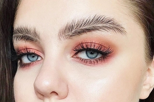 Types of eyebrows trendy in 2018