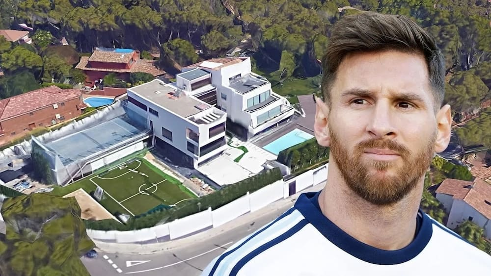 Messi house