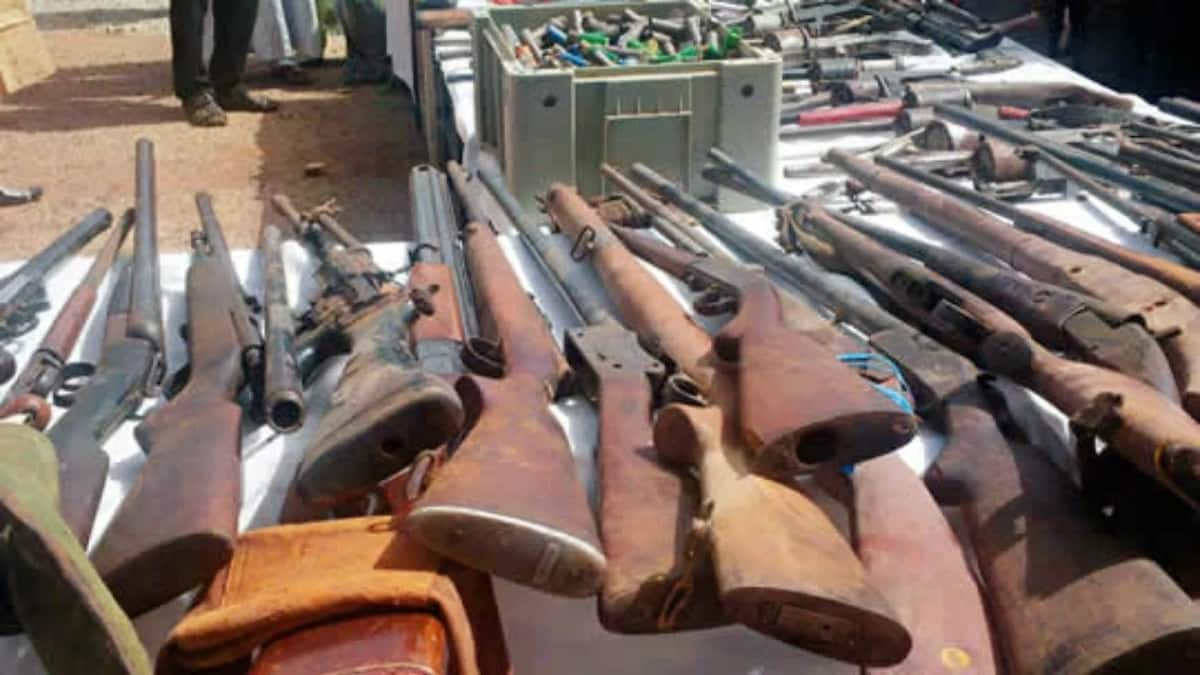 Police uncover illegal firearms' factory in Niger
