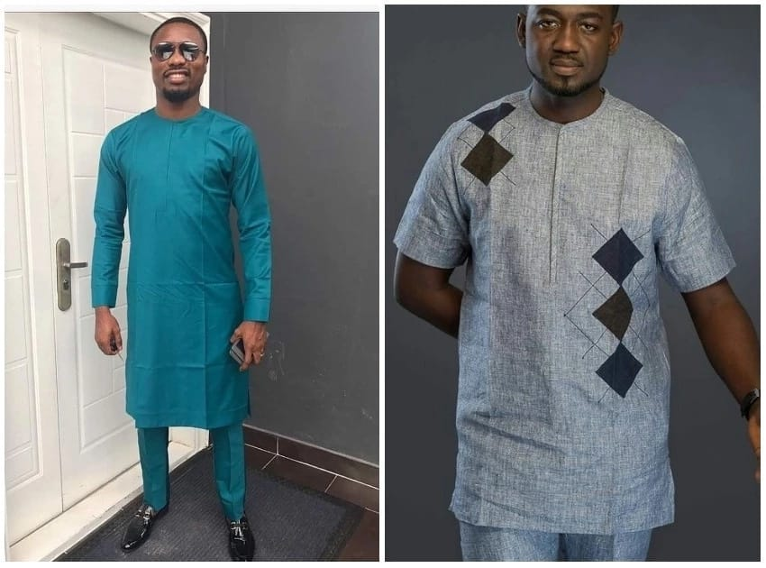 Niger Delta fashion styles: long and short sleeves