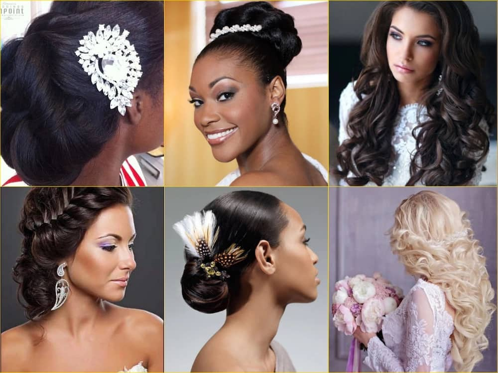 Wedding hairstyles in Nigeria: best styles for brides ▷ Legit.ng