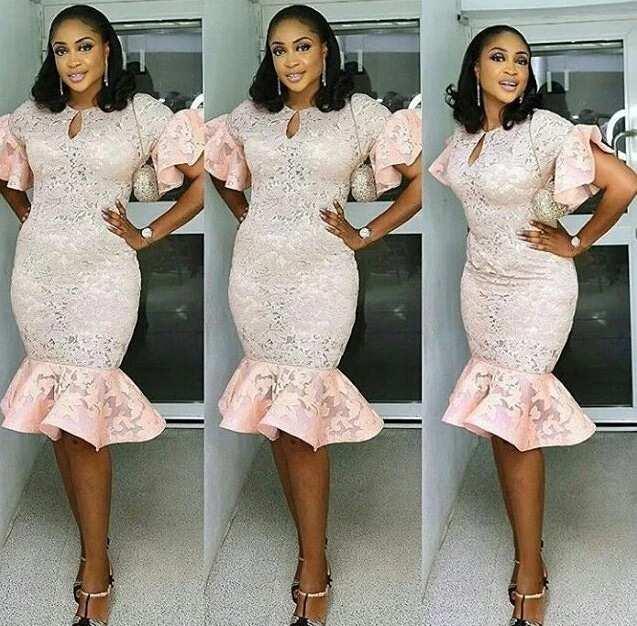 Nigerian Lace Dress Styles In 2018