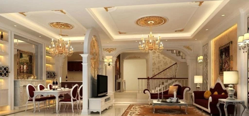 . Best POP designs for living rooms in Nigeria   Legit ng