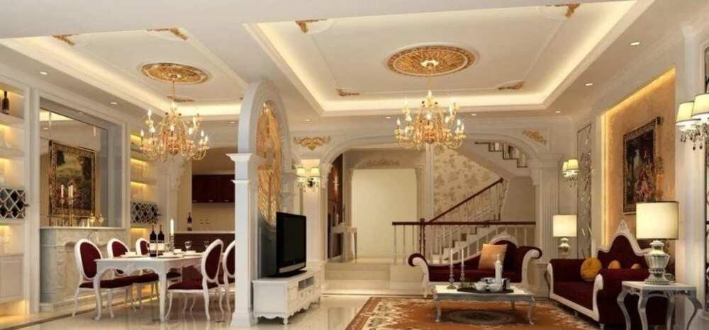 Best POP designs for living rooms in Nigeria Legit.ng