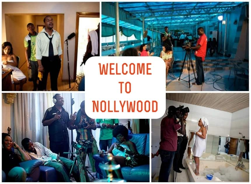 How is the film made in Hollywood?