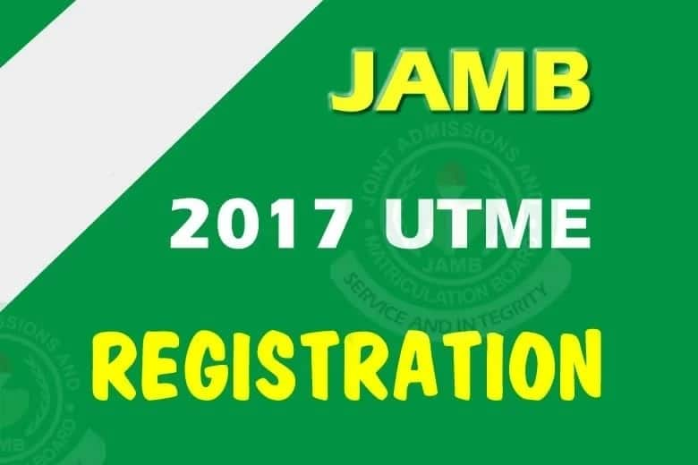 Info from JAMB: Steps for 2017 Registration and Application