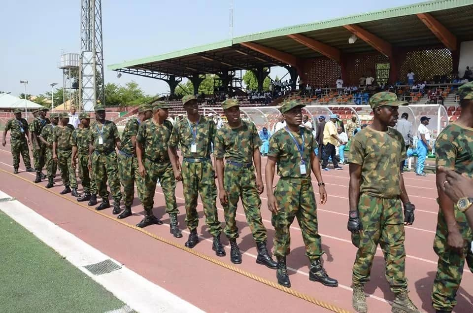 NAF servicemen