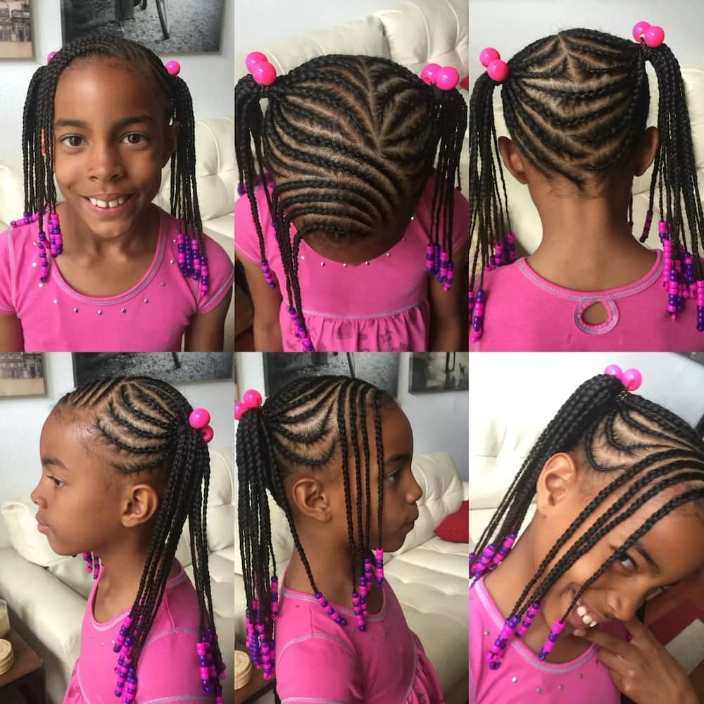 Kids Braided Hairstyles With Beads Legit Ng