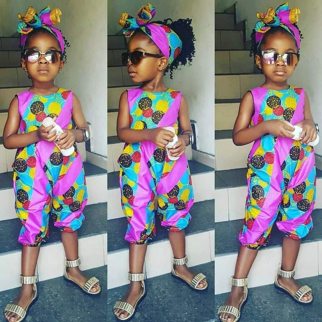 Ankara colorful style for girls