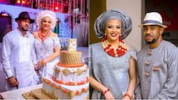 Nigerian model Sarah Ofili releases official wedding photos online, shares lovely New Year message