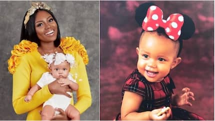 Yvonne Nelson celebrates her daughter's 1 year birthday in style, 10 more photos to show just how cute the kid is