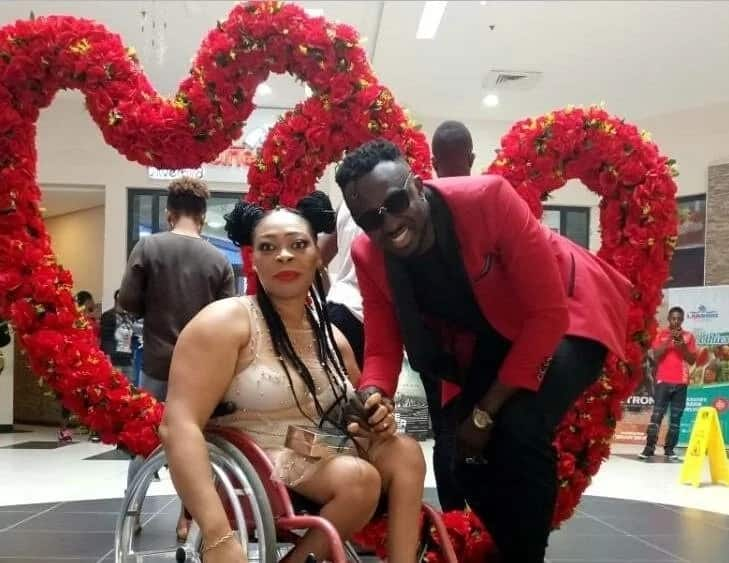Nigerian_man_melts_hearts_as_he_takes_his_physically_challenged_lady_for_the_Valentine's_date