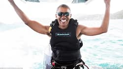 See ex-president Obama kite surfing and enjoying life in new cool PHOTOS
