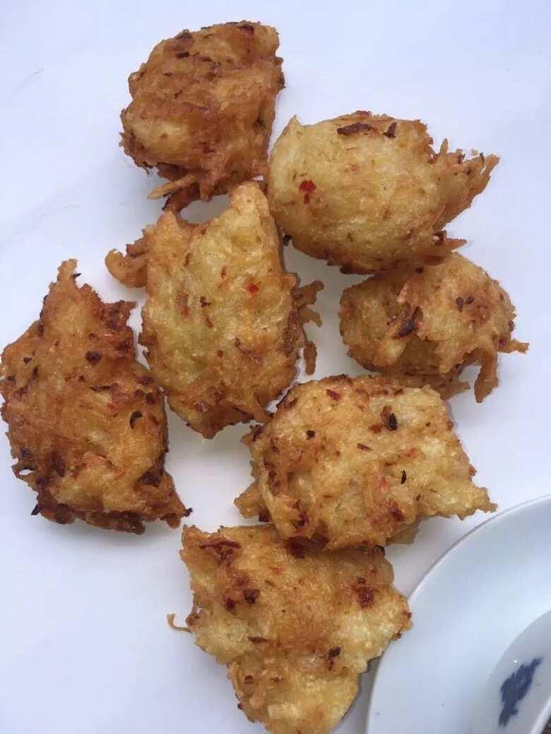 Ojojo - Yam Fritters