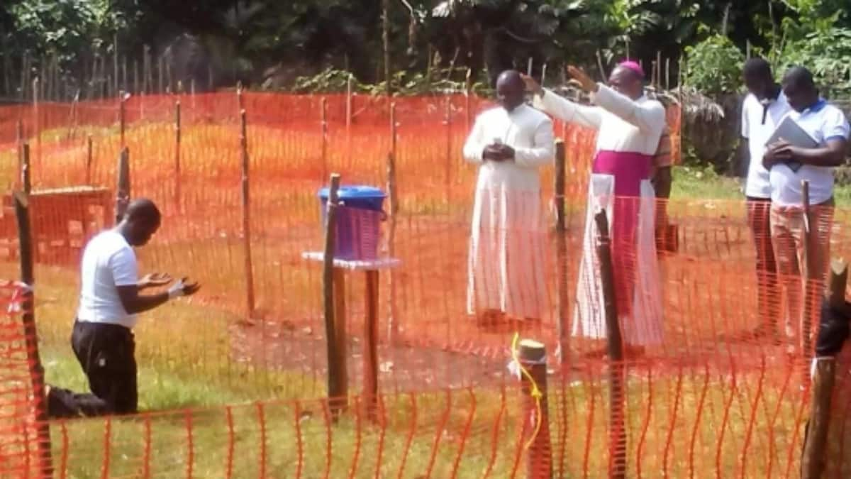DR Congo Catholic priest infected with Ebola survives