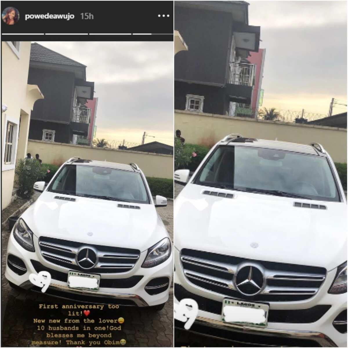 Ex-beauty queen Powede gets SUV