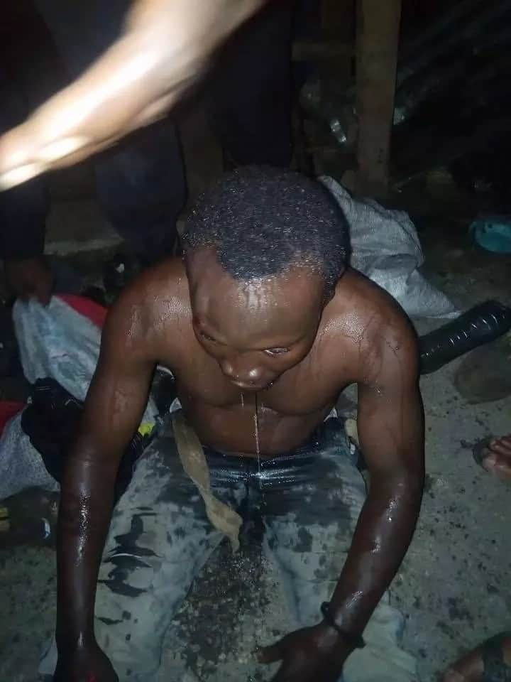 Motorcyclist rescued after taking overdose of Tramadol in Delta state (photo)