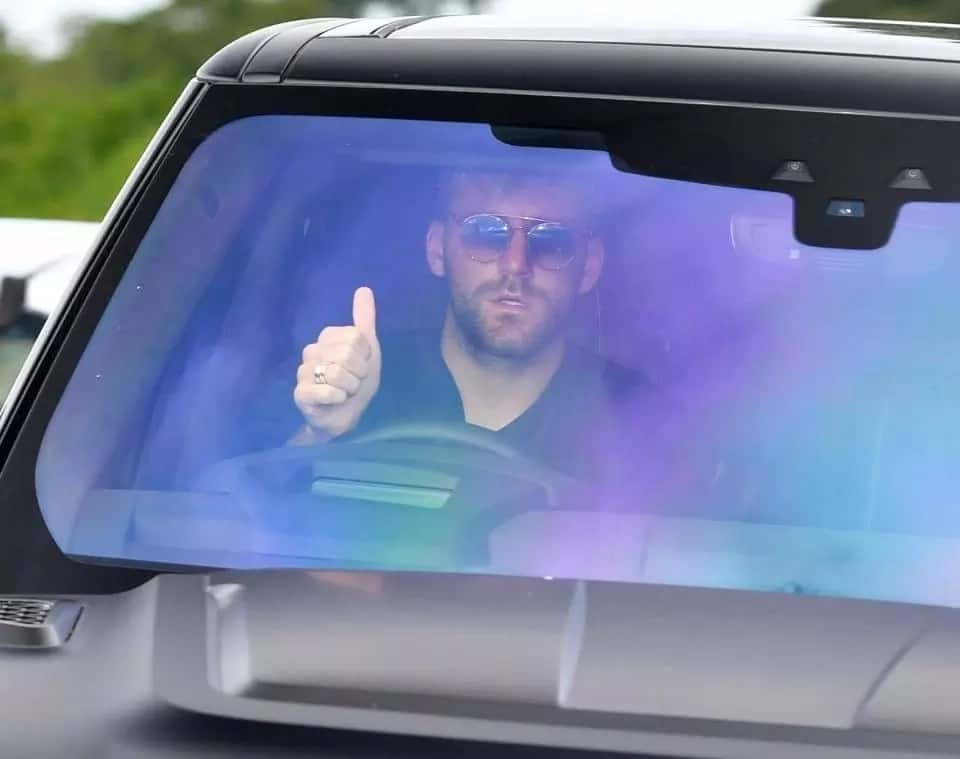 Manchester United superstars arrive training ground for Watford clash in super cars