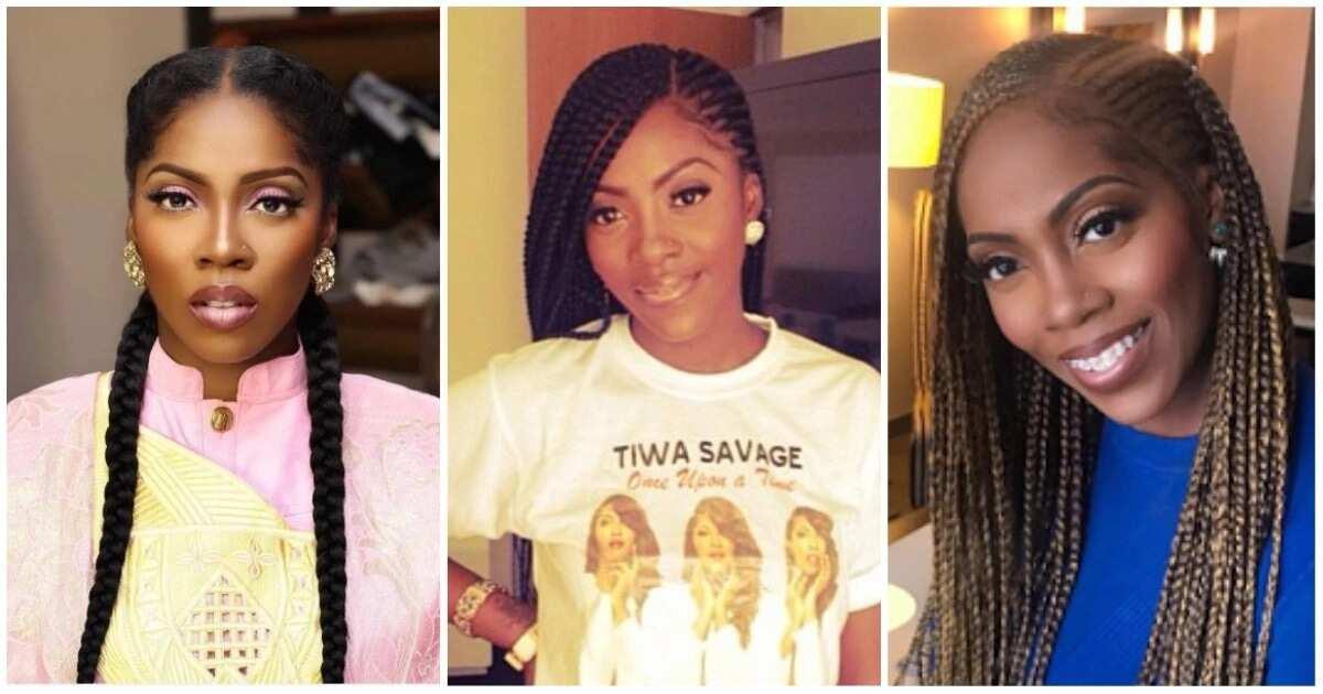 Best Tiwa Savage braids styles