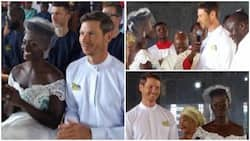 Late Dora Akunyili's daughter Chidiogo and her Canadian fiancé Andrew tie the knot in Anambra (photos)