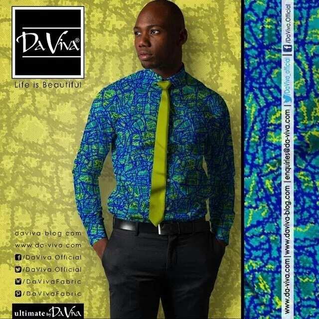 DaViva shirt with a matching tie