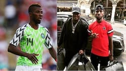 Super Eagles star Kelechi Iheanacho spends over N7m shopping in Manchester with popular music celebrity