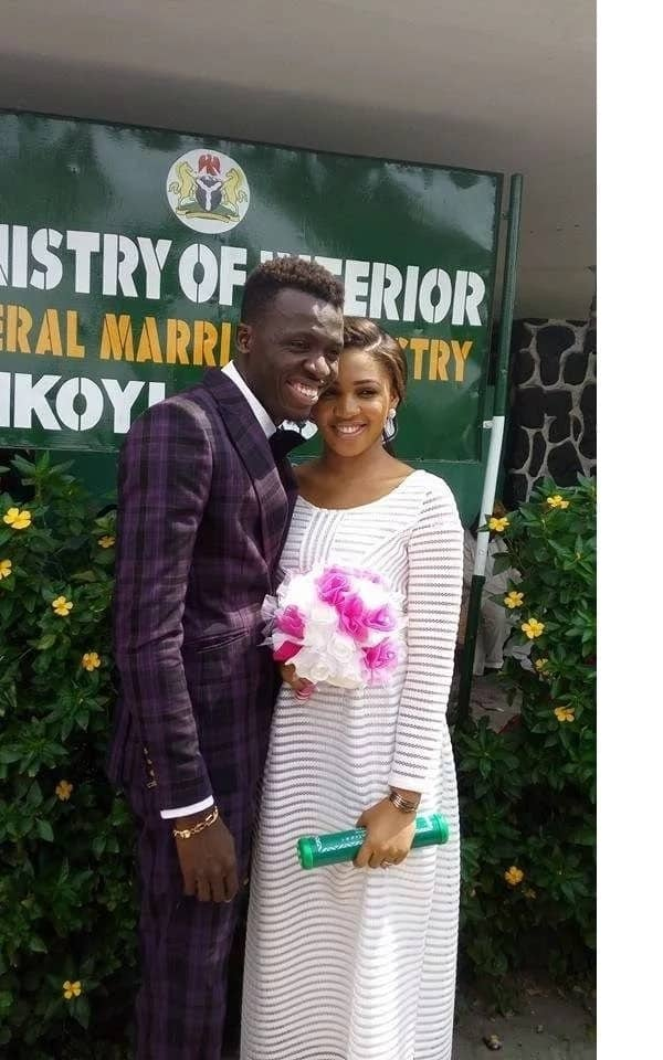 Comedian Akpororo goes wild as his wife delivers set of twins in the USA