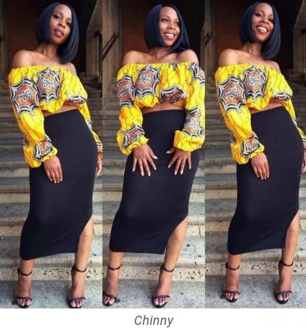 1c9ff0ef8dd047 Unique Ankara styles 2017 - blouse and skirt