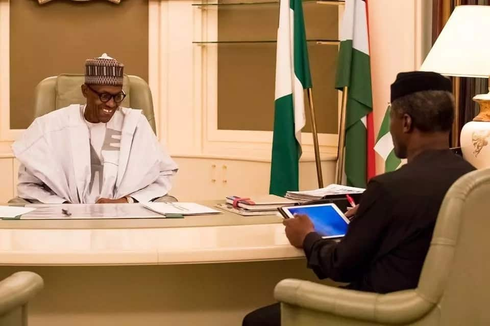 He said the president expressed delight over the reported stability in the oil and gas sector