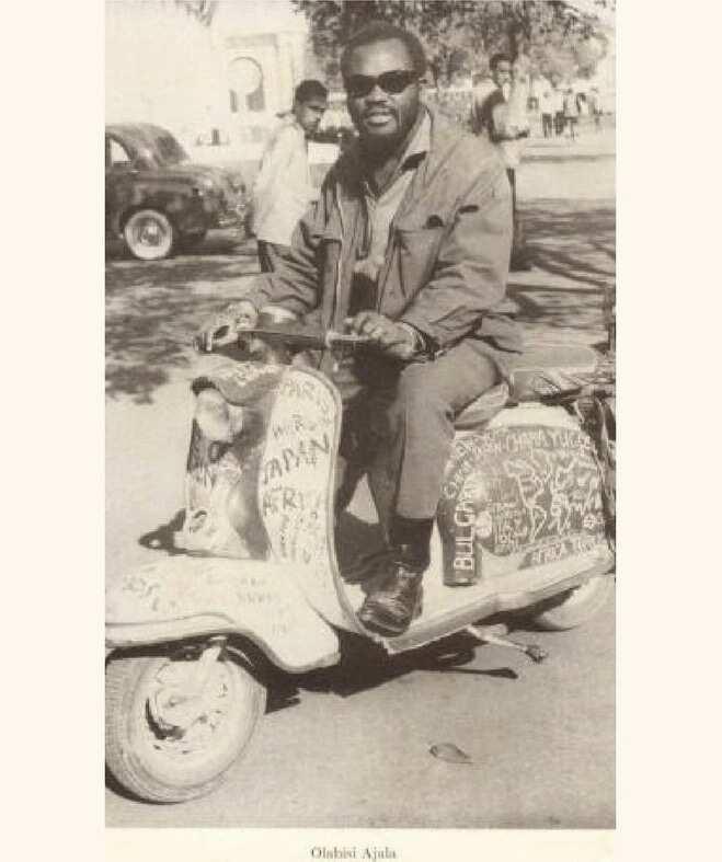 Olabisi Ajala - Nigerian Traveller