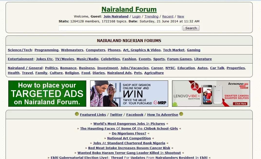How to post on Nairaland forum? ▷ Legit ng