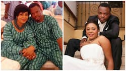If you had not come to this world where would I have found the perfect fit - Sola Kosoko gushes over husband