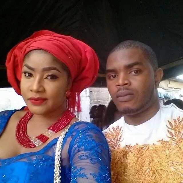 Angela Okorie and husband