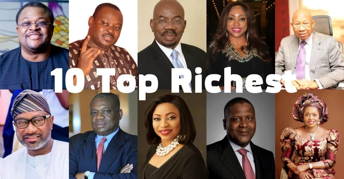 Top 10 richest people in Nigeria 2018