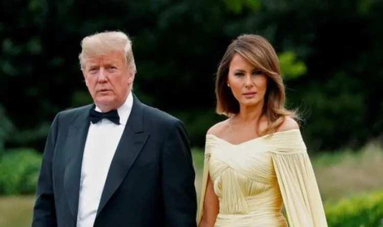 Shaidan ya shiga tsakanin Trump da matarsa Melania