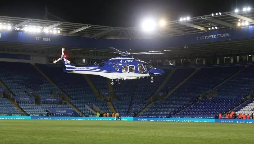 Leicester owner feared dead as son and club director escape helicopter crash