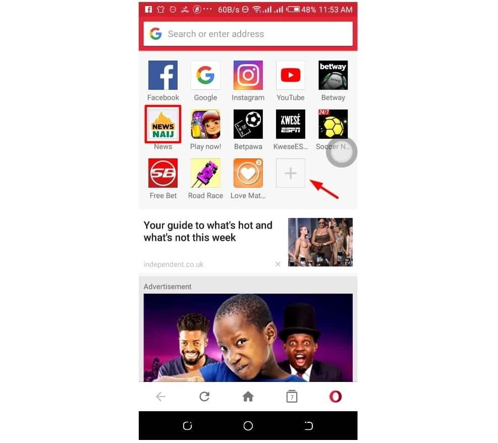 Access your favourite news site Legit.ng instantly in 3 simple steps