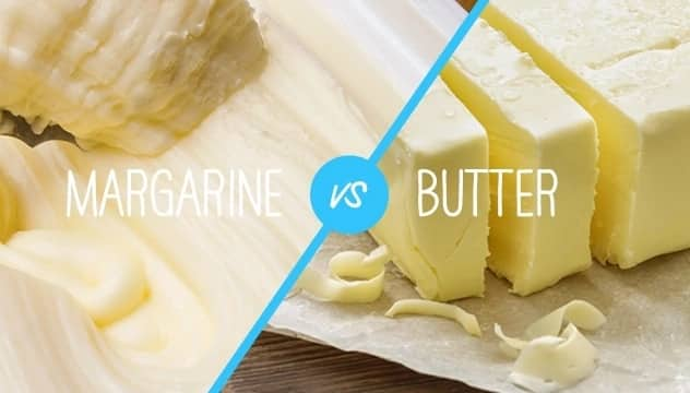 What's the difference between butter and margarine?