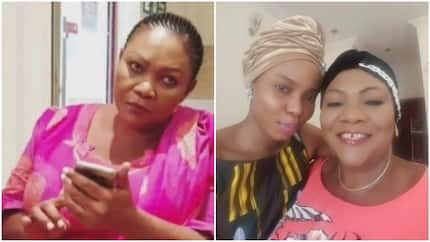 Singer Yemi Alade's mother allegedly fights at beer parlour in Abuja, man narrates she was drunk