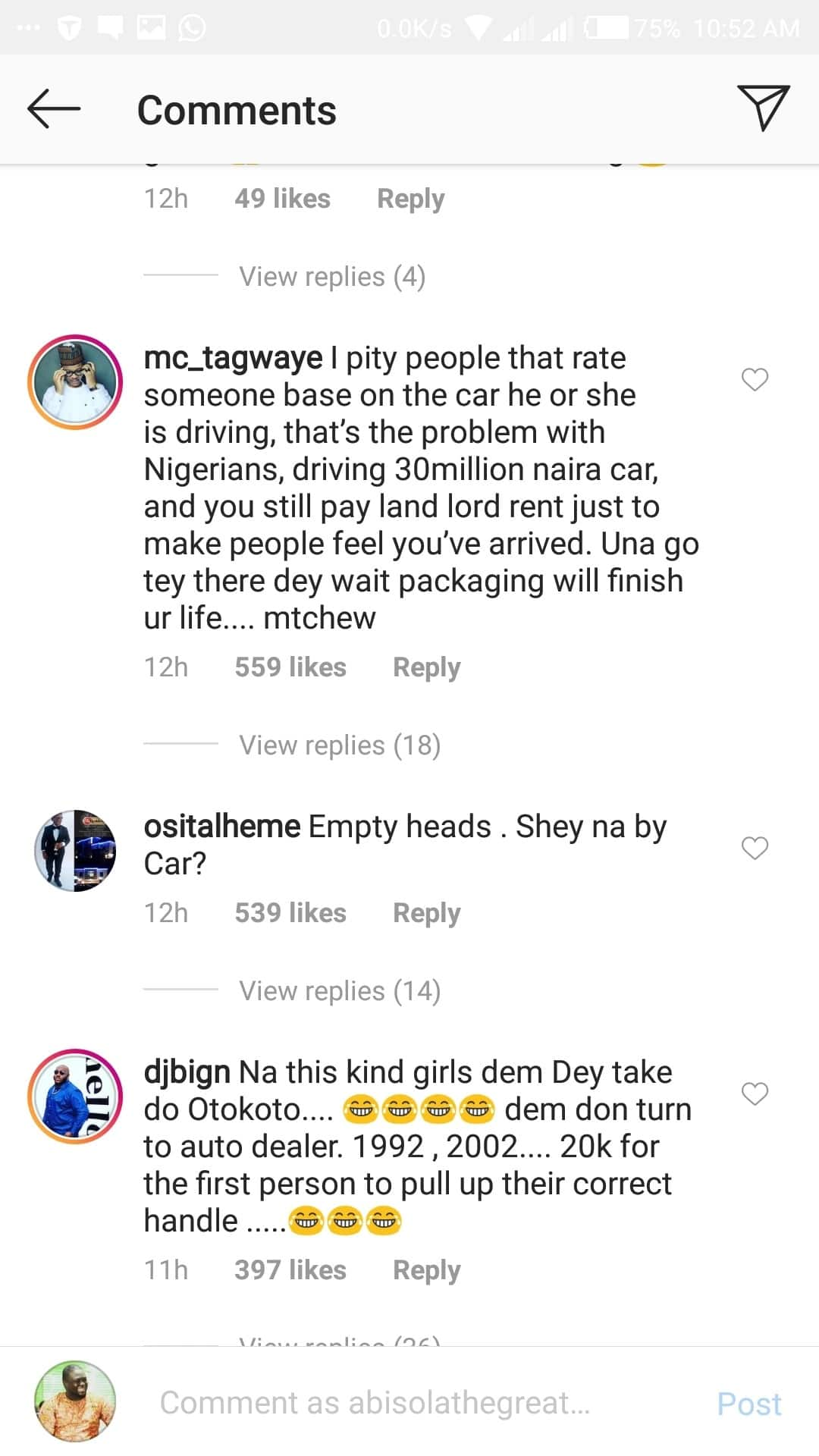 Two women slam Banky W and Adesua Etomi for driving an expired Range Rover SUV