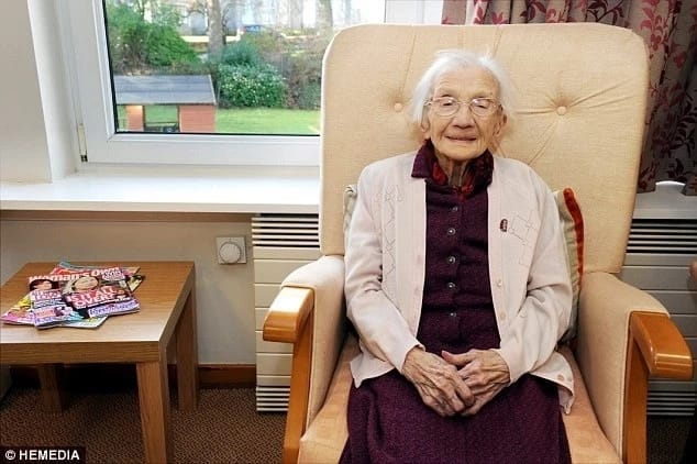 Oldest woman in UK