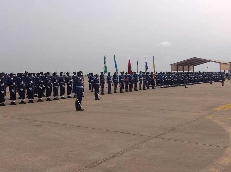 Other activities during the closing ceremony were aerial and static display of various NAF platforms and hardware as well as a colourful ceremonial parade