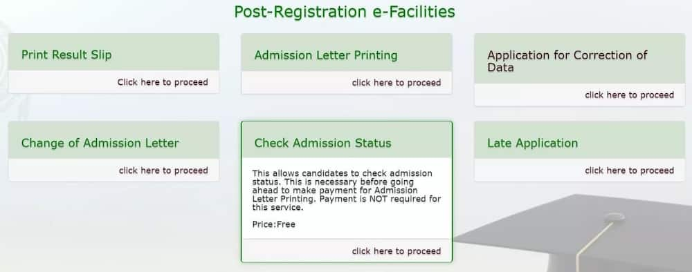 How to do JAMB regularization after checking admission status